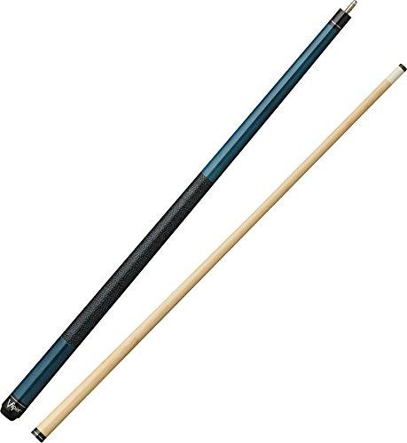 Viper Elite Billardqueue, 147,8 cm, 2-teilig, Herren, azurblau, 20-Ounce -