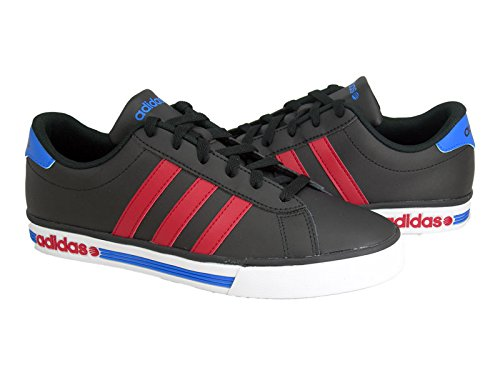adidas Chaussure Daily Team Homme Multicolore Noir-Rouge-Bleu