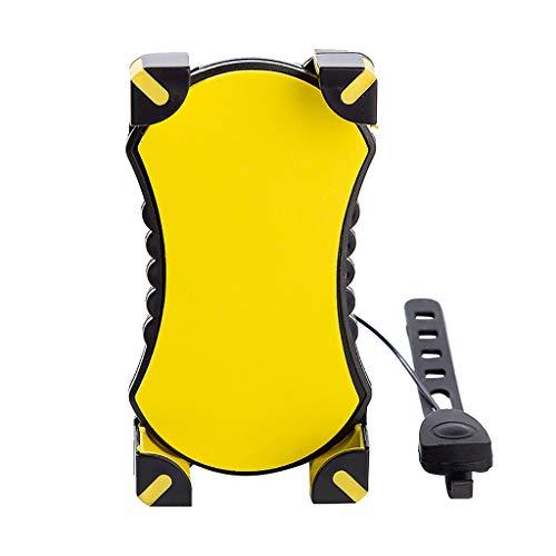 MA87 Telefonhalterung Extender Bike GPS Riding Verstellbar Lenkerhalterung Lenker für (Gelb) - Fahrrad-kette Bell