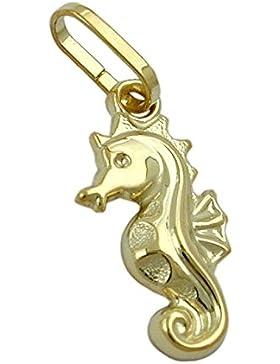 Anhänger, Seepferdchen, 9Kt GOLD
