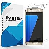[Upgrade Version] Protection écran Galaxy S7, iVoler [Lote de 2] 3D Incurvé Couverture Complète [Liquide Installation] [Anti-rayures] [Sans bulles] TPU Film Protecteur HD Transparent Screen Protector pour Samsung Galaxy S7