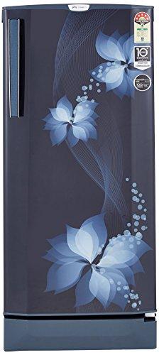 Godrej 210L 5 Star Direct Cool Single Door Refrigerator (R D EPro 225 TAI 5.2 BRZ BLU, Breeze Blue, Inverter Compressor)