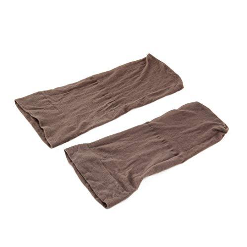Swiftswan 2 Stücke One Size Nylon Perücke Kappe für Männer Frauen Perücke Liner Net, Der Kappe Snood Nylon Stretch Mesh Haarnetze Zubehör
