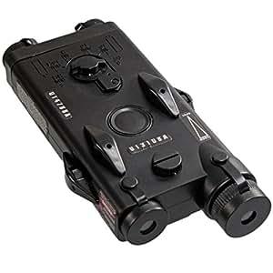 PEQ-2 mannequin Airsoft AEG RIS Mont Batterie Case [pour Airsoft uniquement]