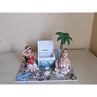 Geldgeschenk - Urlaub Strand Palmen Meer Reise