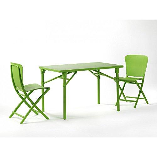 tavolo-rettangolare-zic-zac-classic-con-extra-kit-completo-di-extra-kit-e-due-sedie-zac-lime-smontab