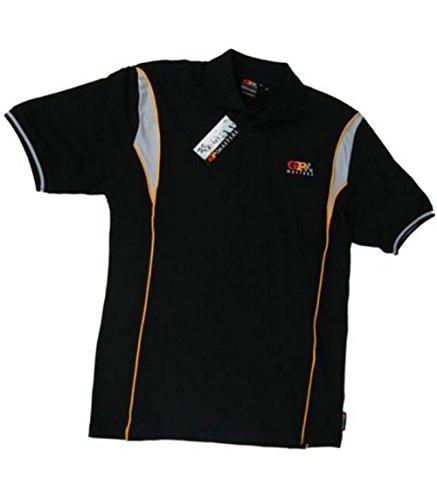 Polo pour Homme: F1Formula One 1nouveau. Mansell GP Masters noir Noir petit wJevXFZDF