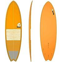 TORQ Tabla de Surf epoxy Tet 6.3 Fish Lines