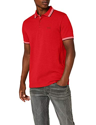 BOSS Herren Poloshirt Paddy, Rot (Open Red 649), X-Large