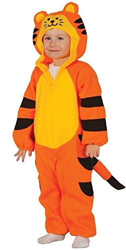 en Jungen Tiger Katze Tier Halloween Dschungel Kostüm Kleid Outfit - Orange, 12-24 Months (Baby-tiger Kostüme Halloween)