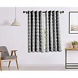 Solimo Celesta Window Curtain, 5 feet - Set of 2 (Limestone Grey)