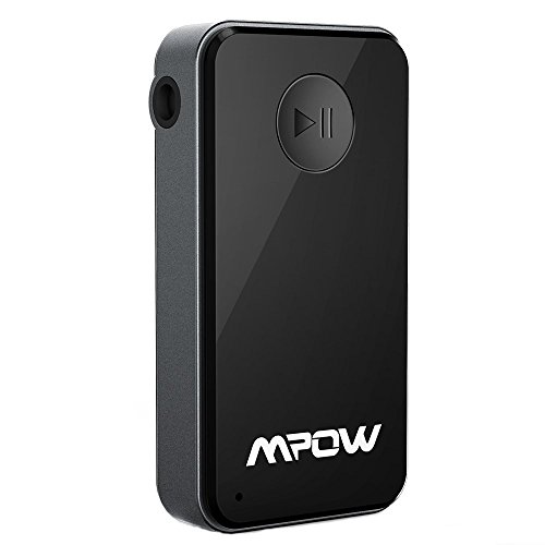 Mpow Streambot Bluetooth Receiver, Wireless Adapter Hands-Free Car Kit for Home/Car Audio System