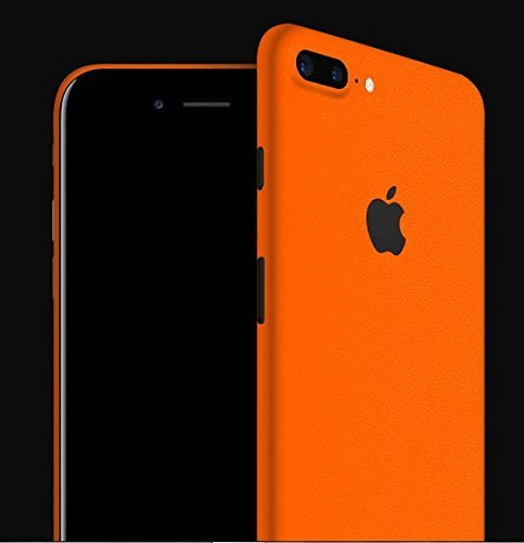GADGETS WRAP Matte Orange Skins for Apple iPhone 7 Plus (Back only) -CO- B10B6