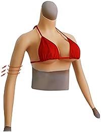 41f2bfa6bb11f0 Sharplace 1 Paar Konkave Silikon Brustformen Brustprothesen Realistische  BH-Einlagen Transgender Damen
