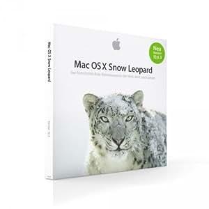 Apple Mac OS X Snow Leopard Operating System version 10.6 UK