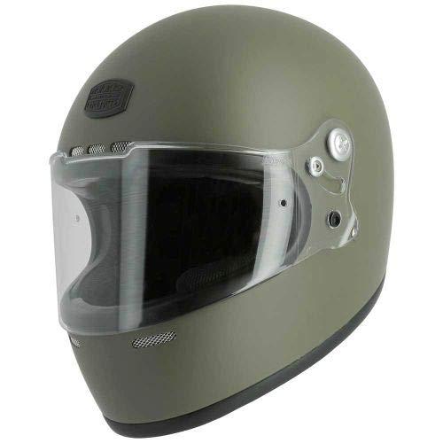 Astone Helmets - Casque intégral Vintage GT Rétro - Casque ultra-léger au look rétro - Casque vintage homologué en fibre de verre et alcantara M