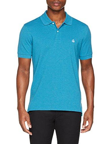 Brooks Brothers Herren Poloshirt Polo in cotone Supima Turchese Turchese (Turquoise/Aqua)