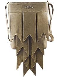 [Sponsored Products]Voaka Women's Tan Designer Sling Bag