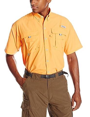 Columbia Men's Bahama II Short Sleeve Shirt, Koi, Small