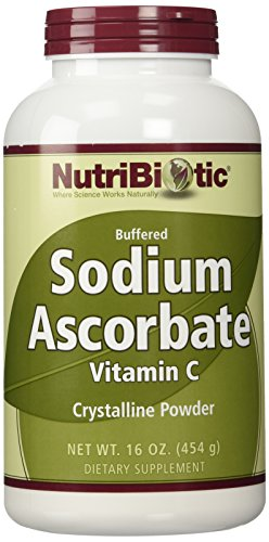 Sodium Ascorbate Crystalline Powder (buffered vitamin C) - 454g - NutriBiotic