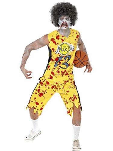 (zombie Kostüm etudiant Basketball Player Slv Box, Größe l)