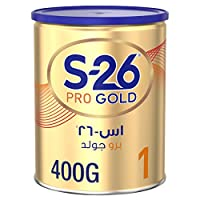 Wyeth Nutrition S26 Pro Gold Stage 1, 0-6 Months Premium Starter Infant Formula 400g