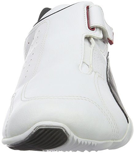 Puma - Redon Move, Sneakers unisex Bianco (WHT/BLK/RED 01WHT/BLK/RED 01)