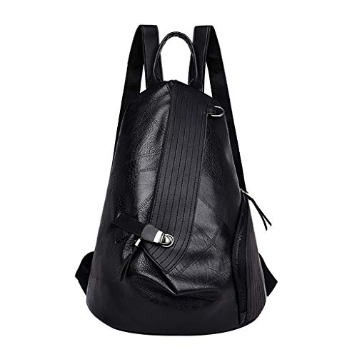 Mitlfuny handbemalte Ledertasche, Schultertasche, Geschenk, Handgefertigte Tasche,Frauen Farbabstimmung Wild Fashion Freizeit Reisetasche Student Bag Rucksack -