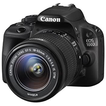 Canon EOS 100D - Cámara Digital de 18 MP (Pantalla táctil de 3in ...