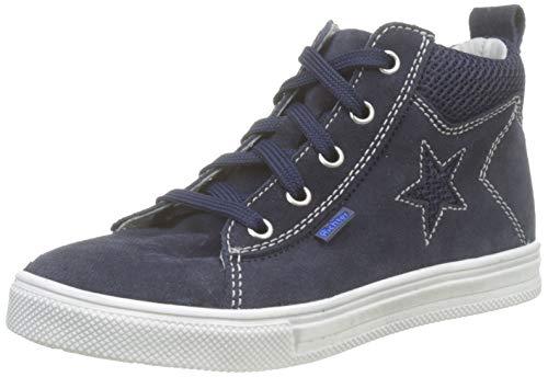 Richter Kinderschuhe Jungen Ola Hohe Sneaker, Blau (Atlantic 7201), 28 EU