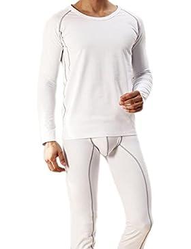 gli uomini sono le t - shirt / collo stile respirabile materiale biancheria termica piena manica giubbotto adatto...