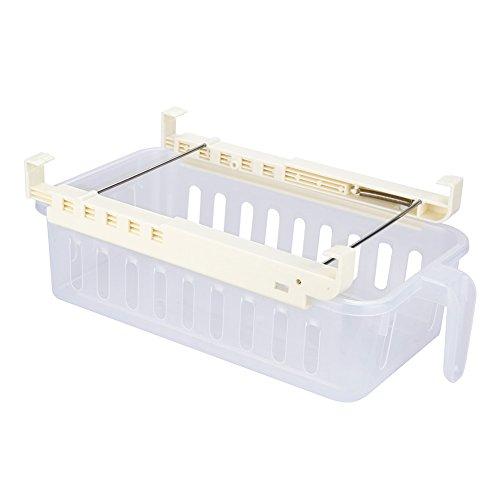 Majome Estantes del refrigerador Caja de almacenamiento Tipo de cajón Compartimiento Bandeja de partición para la cocina Huevo de la fruta