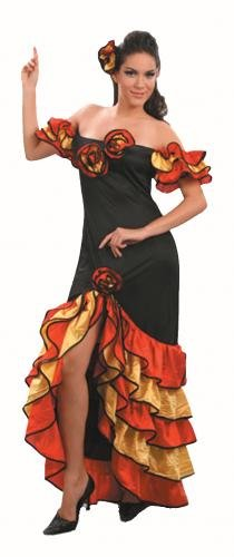 AN (Rumba Frau Kostüm)
