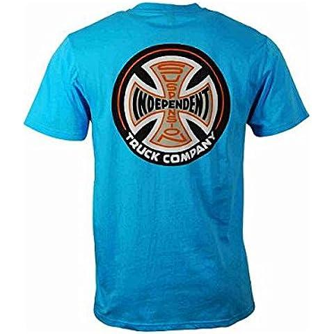 Camiseta Independent Suspension Sketch Huntington Blue talla M
