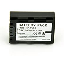 A New Foto-gears Mesen 2000mah NP-FV50 NPFV50 replacement battery batteries for Sony NP-FV30 NP-FV40 NP-FV50 NP-FV70 NP-FV100 DCR-SR300 Handycam DCR-SX33 DCR-SX34 NP-FV50