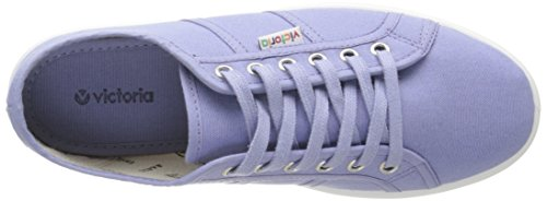victoria Unisex-Erwachsene Basket Lona Plataf Sneaker, Rot Bleu (190 Lavanda)
