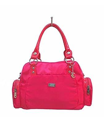 JINU Women's Handbag (Pink) (JinuA8266)