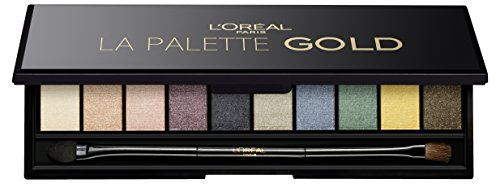 L'Oreal Paris Color Riche La Palette, Gold, 7g