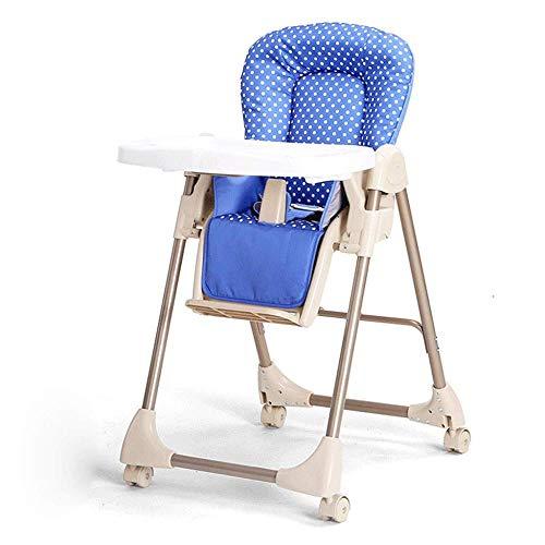 YANG Faltbare Kinder Esszimmerstuhl Multifunktionsverstellbares Kinderstuhl Tragbare Klapp Kinder...
