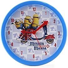 Joy Toy Minions plástico analógico reloj de pared de 24 cm en caja de regalo 90324
