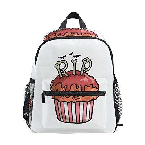 DEZIRO Halloween Cupcake Kinder Büchertasche Schulrucksack (Cupcakes Halloween Kind)