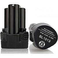 [2PCS] Eagglew 10.8v 3000mAh Li-ion Batería de Repuesto para Makita BL1013 BL1014 194550-6 194551-4 DF030D DF330D TD090D