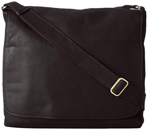derek-alexander-large-3-4-flap-unisex-messenger-bag-black-one-size