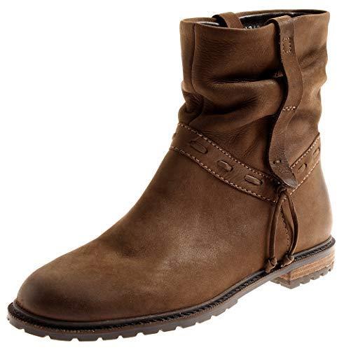 5ed13e6eb870f4 SPM Damen 7063 Lederstiefelette Stiefelette Lederschuhe Leder Boots  Kurzstiefel Braun EU 42