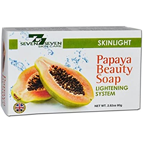 YouLookLight Papaya Beauty Soap for Skin Whitening