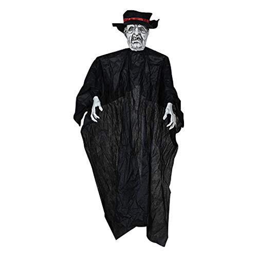 BINGGUO Halloween Requisiten Hängen Geister Ghost House Escape Horror - Gespenstische Geist Ghost Kostüm