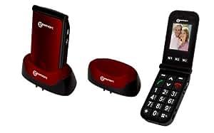 Geemarc CL8400BT Téléphone Portable senior simplifié grosses touches et sonneries puissantes, débloqué tous opérateurs