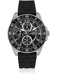 Guess Herren-Armbanduhr Analog Quarz Silikon W0798G1