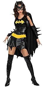 Batman - Disfraz de Batgirl para mujer, Talla S adulto (Rubies 888440-S)
