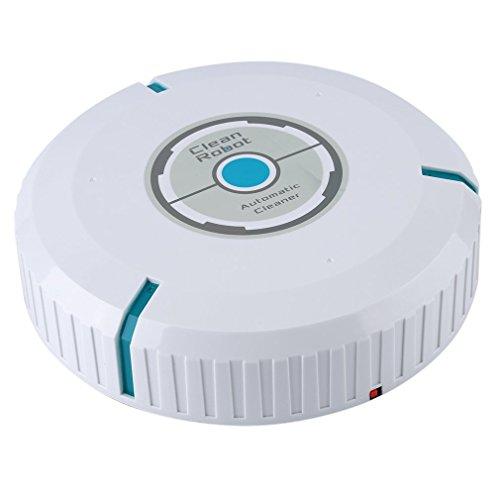 Preisvergleich Produktbild Home Auto Cleaner Robot Intelligent Haushaltsroboter für Floor Corners Crannies (Farbe: weiß)